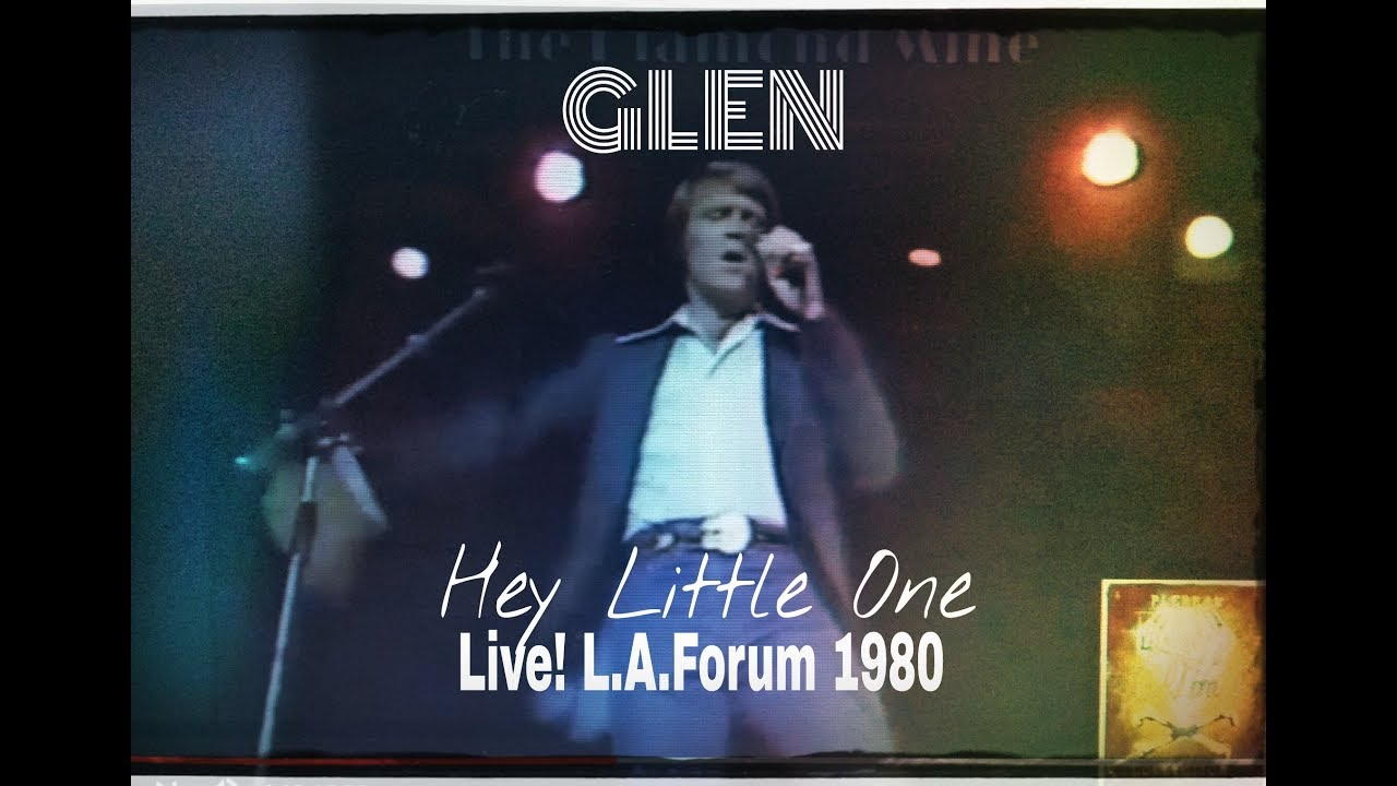 """Glen Campbell ~ """"Hey Little One"""" LIVE! Sold Out L.A. Forum 1980 BEST QUALITY!"""