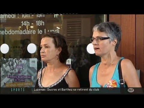 Grève des employés de la Médiatheque Josée Cabanis