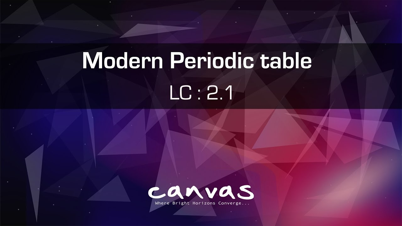 Modern periodic table class 10 youtube modern periodic table class 10 gamestrikefo Image collections