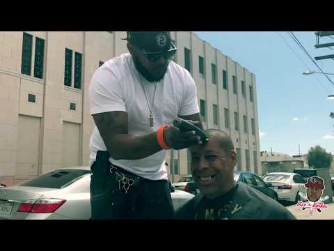 "A BARBER ""@dicethebarber"" GIVING BACK TO HIS COMMUNITY"