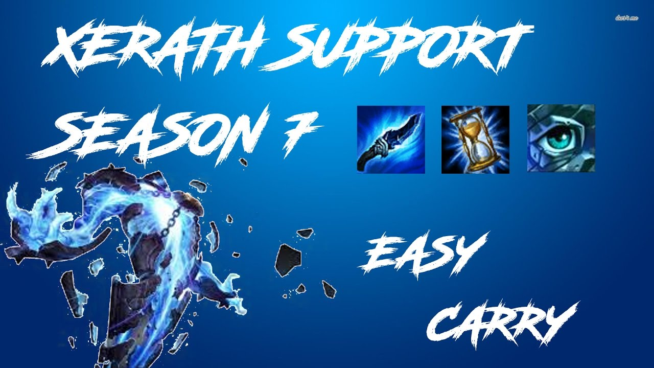 How To Play Xerath Support - League of legends