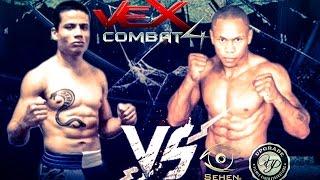 VEX COMBAT 04 - INDIO X JEFERSON - luta 01