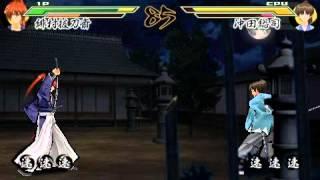 るろうに剣心-明治剣客浪漫譚-完醒   沖田總司 VS 緋村拔刀齋