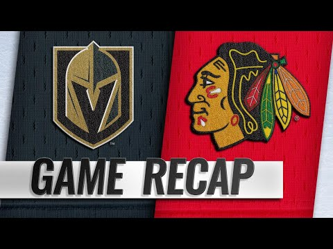 Eakin, Theodore lead Golden Knights to 8-3 win