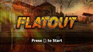 Flatout Wii Gameplay