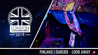 Darude & Sebastian Rejman - Look Away (Finland) | LIVE | OFFICIAL | 2019 London Eurovision Party