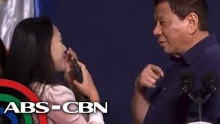 TV Patrol: Paghalik ni Duterte sa Pinay sa SoKor, binatikos; giit ng babae, 'happy ako'