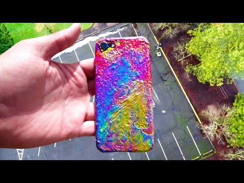Can 100 Layers of Paint Protect iPhone 7 from 100 FT Drop Test?