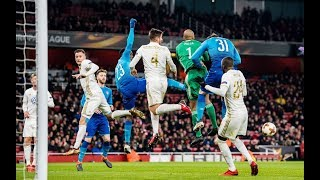Arsenal vs Ostersunds 1 2  Highlights Europa League 22 02 2018