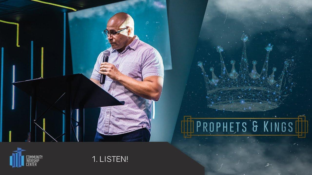LISTEN! | Prophets & Kings | Pastor Jonathan Shaffer
