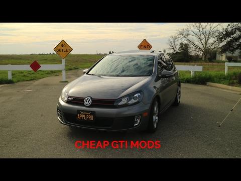 CHEAP MODS FOR MK6 GTI