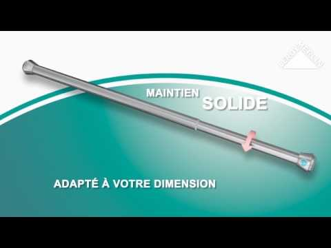 Utiliser les kits de tringle à rideau extensible Yuko - YouTube
