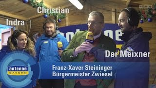 ANTENNE BAYERN Maibaumklau 2017: Die Maibaumauslöse in Zwiesel