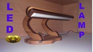 LED (светодиодный) светильник своими руками. Led Lamp DIY.