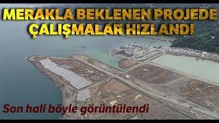 Rize Artvin Havalimanı nda Çalışmalar Havadan Görüntülendi