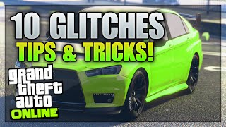 GTA 5 Online 10 Glitches & Tricks Online! (GTA 5 Online Glitches)