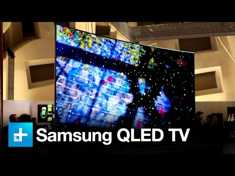 Thumbnail: Samsung QLED TV - Hands on at CES 2017