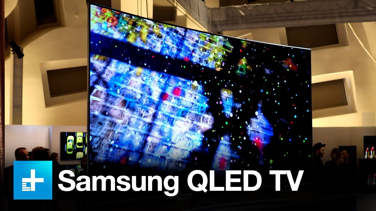samsung qled tv hands on at ces 2017 youtube. Black Bedroom Furniture Sets. Home Design Ideas