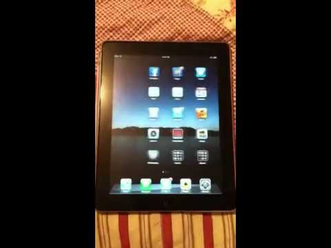 iPad icons shaking