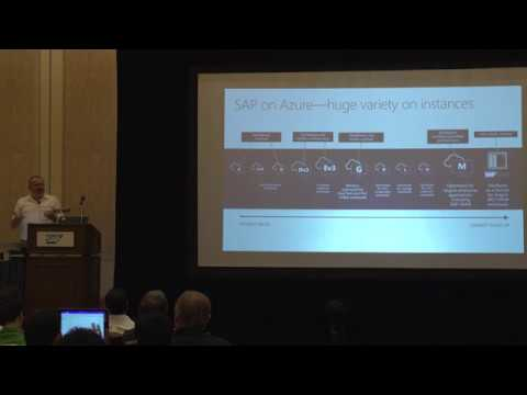 SAP on Azure Session at SAP TechEd 2017