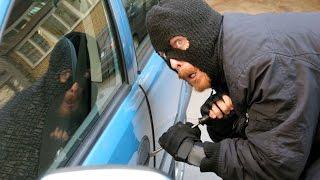 Видео угона машины!!!! Что делать!!!! Угнали машину!!!