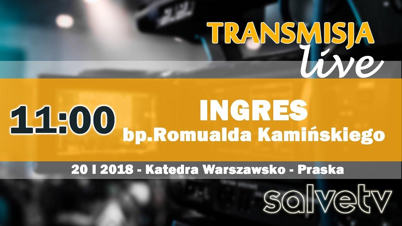 11:00 – Ingres bp. Romualda Kamińskiego do Katedry Warszawsko-Praskiej