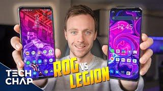 最高のゲーム電話2021? ROG Phone5とLegionPhone2の比較