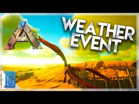Ark:Survival Evolved Scorched Earth Expansion pt.2DEADLY HEAT WEATHER EFFECTBOOMERANG!
