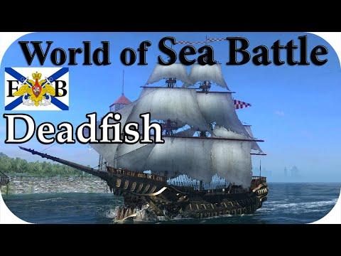💀World Of Sea Battle #24| Строю новый корабль! Deadfish, Подготовка к войне! Пираты онлайн