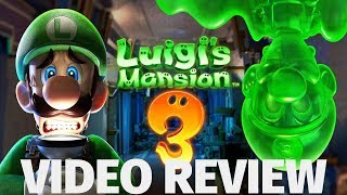 Luigi's Mansion 3 Review - Spooky Good TImes (Video Game Video Review)