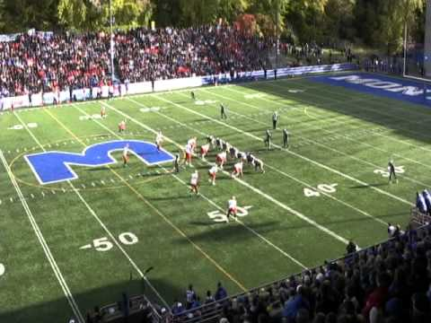 David Foucault - University of Montreal vs. University of Laval (2012)
