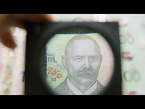 Next Generation Of Australian Banknotes: New $100 Footage