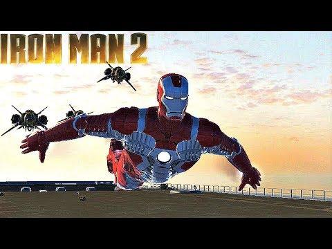 Mark 5 Suit Gameplay - Iron Man 2 Game