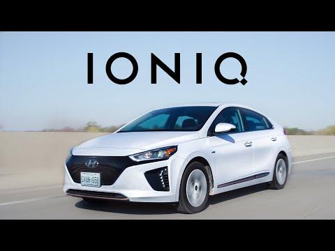 Hyundai Ioniq Electric & Hybrid Maximum Range Challenge - Yuri and Jakub Go For a Drive