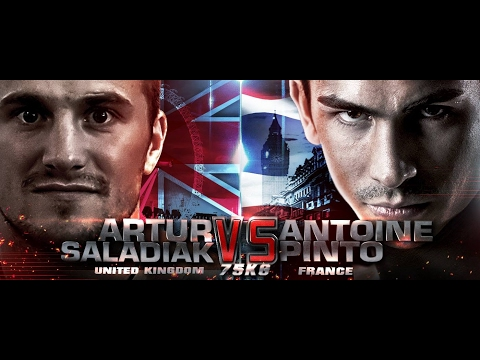 THAI FIGHT LONDON 2016 September 11 Antoine Pinto VS Artur Saladiak