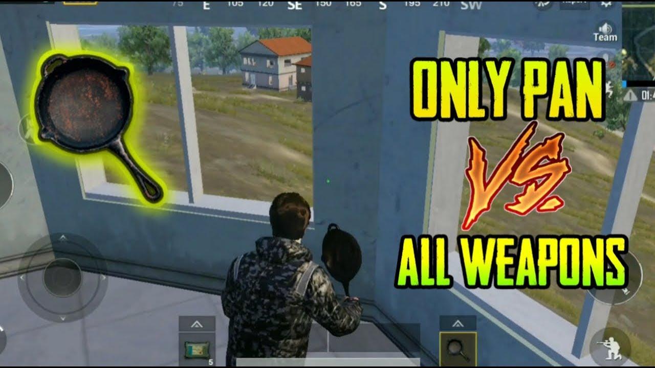 ONLY PAN VS ALL GUNS CHALLENGE PUBG MOBILE !