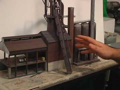 Model Trains: HOW TO! Paint Realistic Rusty Colors! Steel Mills!