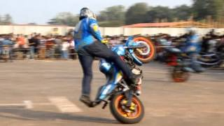 Ghost Riders Bike Stunt In Kollam