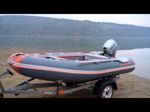 Транспортировка и екипировка лодки ПВХ КOLIBRI 330 DSL.