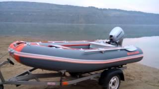 Транспортировка и екипировка лодки ПВХ КOLIBRI 330 DSL.(це відео створено за допомогою Відеоредактора YouTube (https://www.youtube.com/editor), 2016-03-14T19:28:14.000Z)