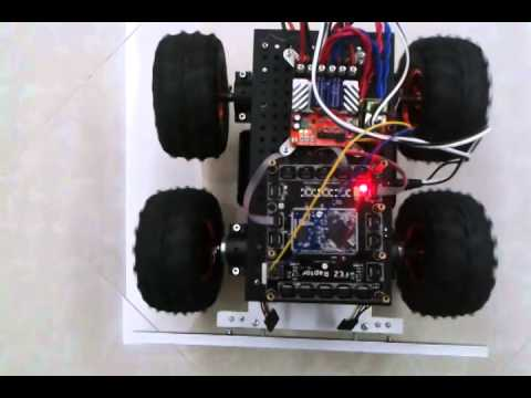 RoboClaw gadgeteer driver on Wild Thumper 4WD and FEZRaptor