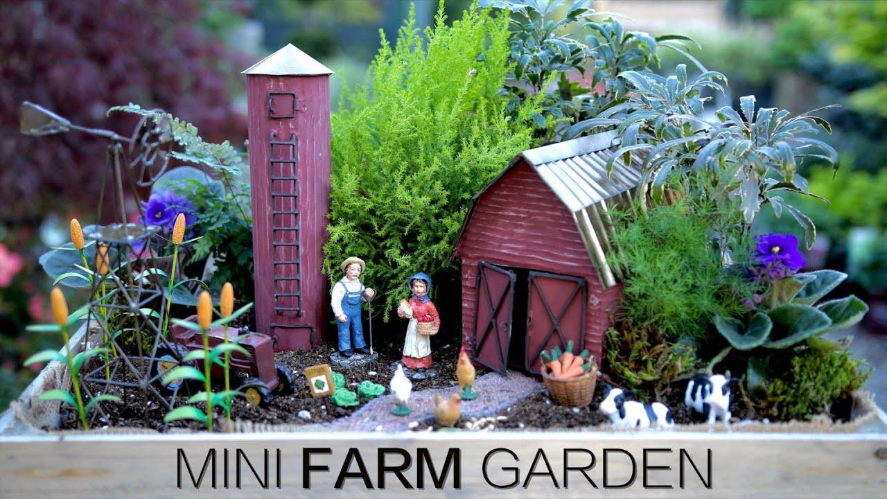 Mini Farm Garden Youtube