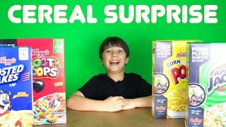 Cereal Box Surprises!