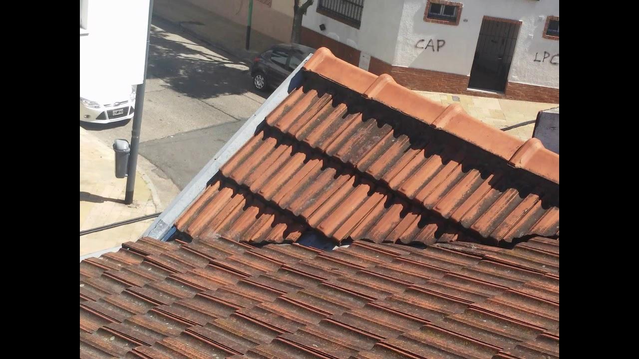 Techo De Tejas Francesas Reparacion 2016 Madera