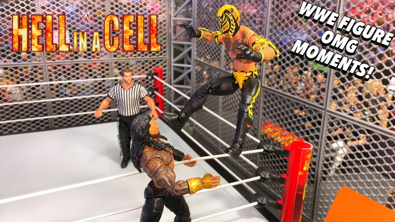 HELL IN A CELL WWE FIGURE OMG MOMENTS!