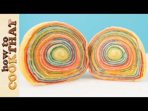 Double Rainbow Unicorn Apple Pie | How To Cook That Ann Reardon