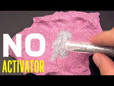 Glitter Slime without Slime Activator