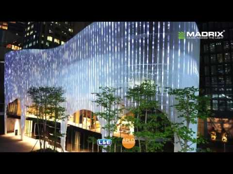 MADRIX ultimate @ Façade Lighting at Noble Ploenchit, Thailand