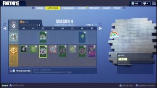 BUYING THE NEW SEASON 4 BATTLE PASS! | FORTNITE BATTLE ROYALE