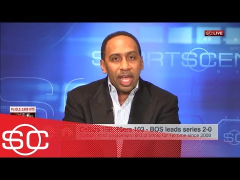 Stephen A. goes off on Ben Simmons, Brett Brown after 76ers' Game 2 loss | SportsCenter | ESPN